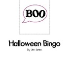 Jen&#039;s Halloween Bingo Game