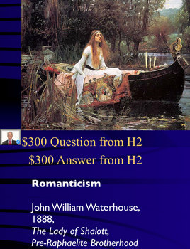 Jeopardy Game 19th Century Art History & Artists
