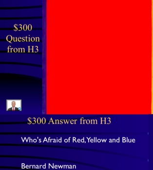 Jeopardy Game, Art of Abstract Expressionism, Expressionist