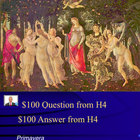 Jeopardy Game of Renaissance Art &amp; Artists