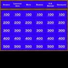 Jeopardy Random Review - Fourth Grade