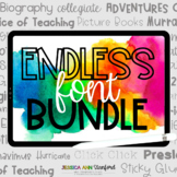 Jessica Stanford's Original Fonts {personal and commercial use}