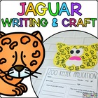 Jessica the Jaguar { Animal Craftivity and Writing Prompts! }