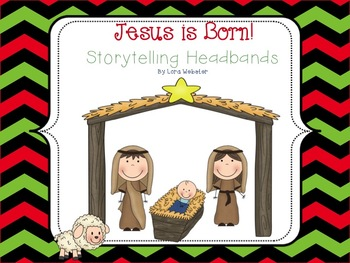 Jesus is Born! Storytelling Headbands