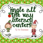 Jingle All the Way December Litaracy centers
