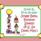Jingle Bells, Batman Smells - A Junie B. Jones Christmas n