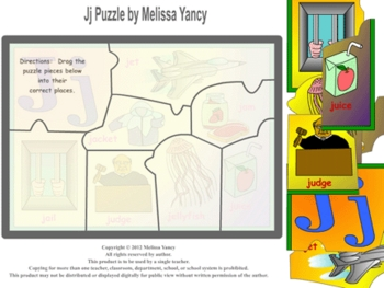 Jj Puzzle by Melissa Yancy for mac