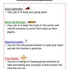 Job Descriptions for Small Groups