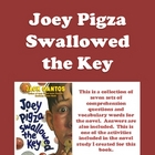 Joey Pigza Swallowed the Key - Comprehension Questions and