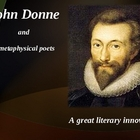 John Donne and the metaphysical poetry