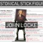 John Locke Historical Stick Figure (Mini-biography)