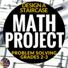 Real World Math:John McBildit Staircase Problem Freebie-Gr