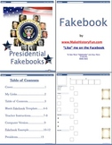 John Quincy Adams Presidential Fakebook Template