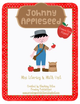 Johnny Appleseed Mini-Math and Literacy Activity {FREEBIE!}
