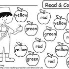 Johnny Appleseed Read &amp; Color, Roll &amp; Cover