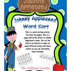 Johnny Appleseed Word Sort