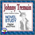 Johnny Tremain Novel Study