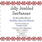 Jolly Jumbled Christmas Sentences