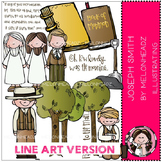 Joseph Smith LINE ART bundle by melonheadz
