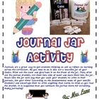 Journal Jar Activity and Journal Writing Strategy! Fun! Fun! Fun!