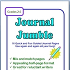 Journal Jumble - 16 FUN Mix & Match Guided Journal Pages!