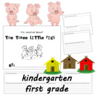 Journal Writing About The Three Little Pigs