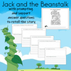 Journal Writing for Jack and the Beanstalk