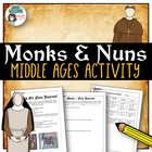 Journal for a Middle Ages / Medieval Monk or a Nun