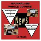 Journalism 1 Whole Course Lessons and Worksheets