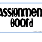 Journalism Assignment Board