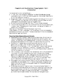 Journalism: Freedom & the American Press System Notes for