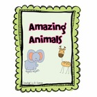 Journeys 1st Grade Amazing Animals Unit