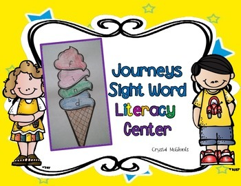 Journeys 2011 Kindergarten Sight Words Word Building Activity