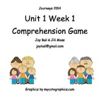Journeys 2014 Kindergarten Unit 1 Building With Dad Gameboard