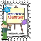 Journeys 2nd Grade- Signmaker's Assistant Unit 4, Lesson 19