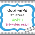 Journeys 2nd Grade Unit 1 Tri-Folds Only