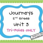 Journeys 2nd Grade Unit 3 Tri-Folds Only