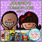 Back to School...Journeys Common Core 1st ...Unit 1 Bundle