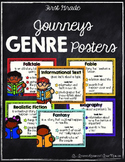 Journeys First Grade Genre Posters