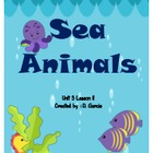 Journeys First Grade Sea Animals Unit 3 Lesson 11