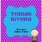Journeys First Grade Tomas Rivera
