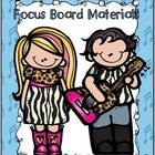 Journeys Grade One...A Musical Day...Focus Wall