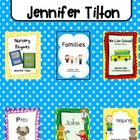 Journeys Kindergarten Unit 1, Lessons 1-5 Bundled