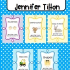 Journeys Kindergarten Unit 2, Lessons 6-10 Bundled