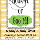 Journeys Lesson 23 & 24 Short & Long /oo/ -  Hook It or Goo It!