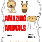 Journeys®  Literacy Activities - Amazing Animals - Grade 1