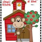 Journeys® Literacy Activities - Curious George at School- Grade 1