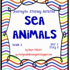 Journeys®  Literacy Activities - Sea Animals- Grade 1