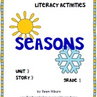 Journeys® Literacy Activities -Seasons- Grade 1