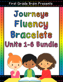 Journeys Sight Word Fluency Bracelets Bundle - 1st Grade U